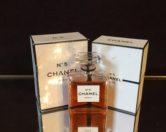 Chanel No 5 perfume 1/2 oz   Vintage 85% full