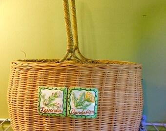 Wicker Natural Basket Set