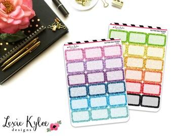Glitter Half Boxes [0140]