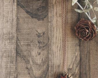 Pinecone Necklace | #32