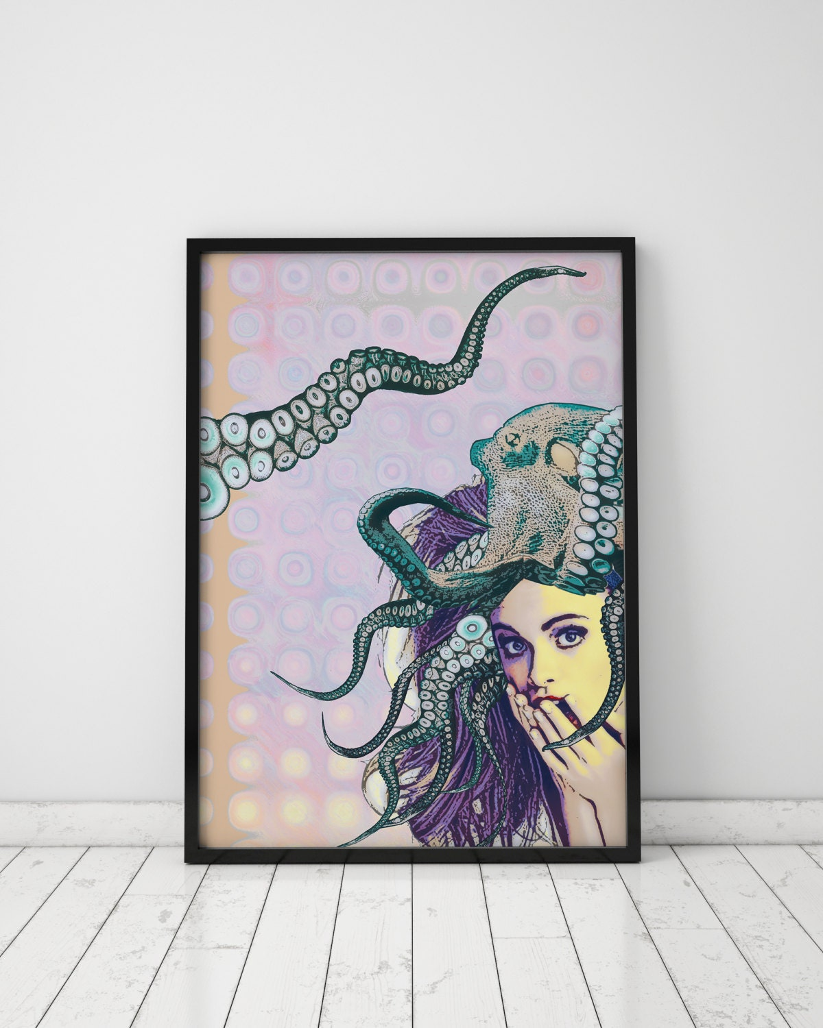 Teenage bedroom wall art - Poster Pop Art Poster Wall Art Prints Teen Bedroom Prints Wall Print Teen Room Decor Pin Up Girl Pastel Print Teenage Girl Pop Art Print