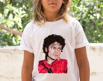 Michael Jackson Thriller shirt / Michael Jackson kids shirt / Michael Jackson t shirt / kids clothes / boys clothes / music t shirt