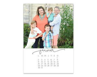 The 2018 Signature Photo Calendar // 5x7 // French Version