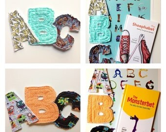 A-Z Alphabet Gift Package: Letters, Book, and Poster