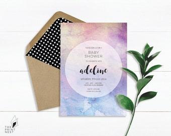Baby Shower Invitation | Digital Baby Shower Invites | Printable Invitations