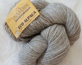 Eco Alpaca 1524-Oatmeal 100% Undyed Baby Alpaca Yarn - Cascade Yarns.  Unbelievably soft and luxurious yarn