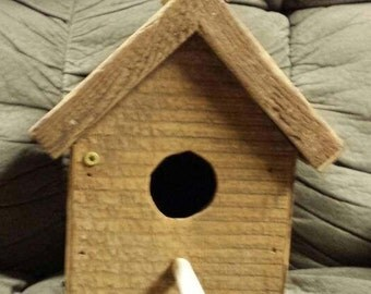 Reclaimed Barn Wood Bird House