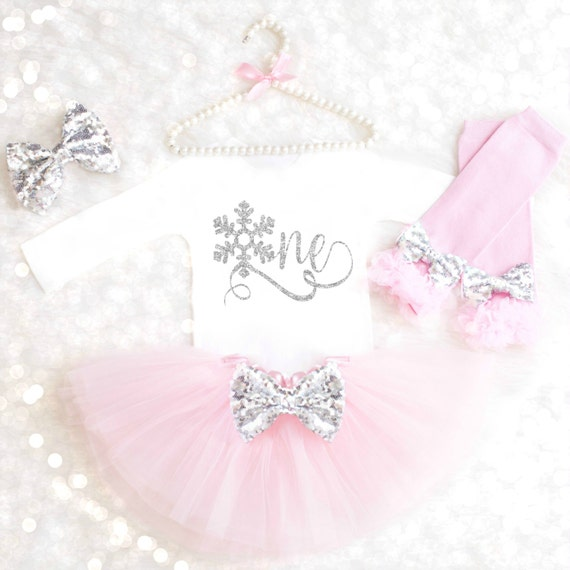 Snowflake Birthday Outfit Winter Onederland Birthday Outfit