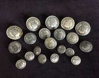 Bag of Military Buttons