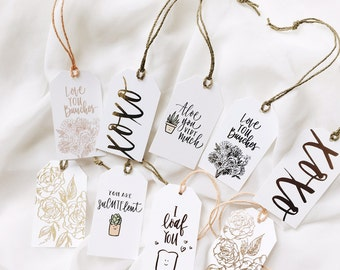 Assorted Love Tags (Package of 10)