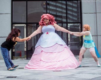 Rose Quartz Cosplay Pattern ONLY - Steven Universe Dress - Costume DIY Plus size Sewing - Crafts - PRINT Version