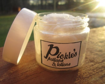 Whipped Coconut Oil + Cane Sugar Scrub   Peppermint   Grapefruit   Exfoliate   Hands, Lips, Feet, Body   Pickle's Potions