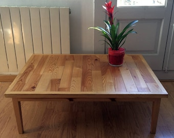 Coffee table reclaimed wood
