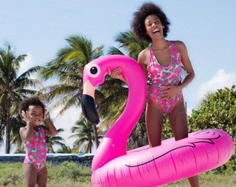 One piece swimsuit // mother and daugther swimsuit // mummy and me outfit // bathing suit // swimsuit for girl // swimsuit for baby