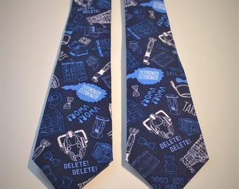 Doctor Who Handmade Necktie