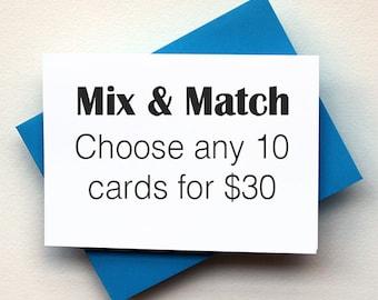 Mix & Match Set of 10
