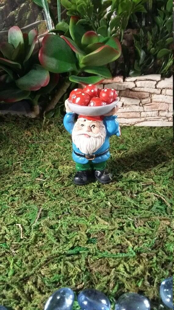 Gnome Garden: Fairy Garden Miniature Garden Gnome For Your Fairy Garden