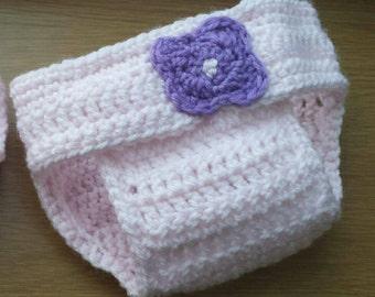 Crochet diaper cover, diaper cover set, cover, diaper cover, crochet diaper, crochet baby, nappy, girl diaper cover, crochet photo prop.