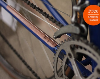 FREE SHIPPING|Wooden Chainstay Protector|Wooden Bike Accessory|Bike|Bicycle|Wood|Gift|Frame|Bike Chain|Laser cut|Bike protection