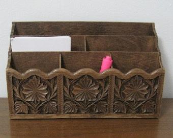Lerner Desk Organizer, Vintage