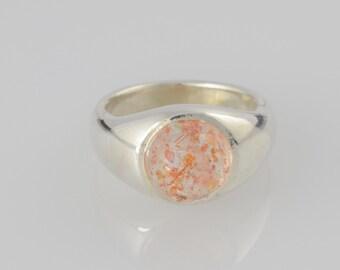 Ring Sunstone • • sterling silver