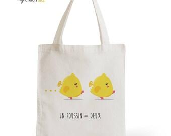 Bag Tote Bag chicks, changing bag, gift for him, for her, children, kids