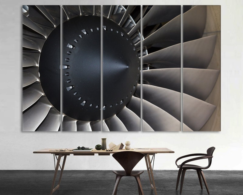 Aircraft Engine Vintage Aircraft Canvas Art Vintage Airplane