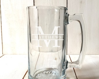 Beer Mugs - Steins - Wedding - Bride & Groom - Groomsman