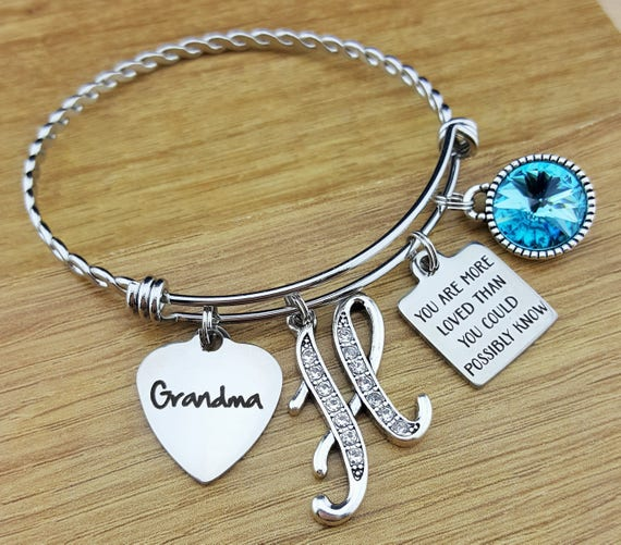 Grandma Gift Gift for Grandma Mothers day Gift for Grandma Grandma Bracelet Gift for Grandmother Grandmother Gift Grandmother Bracelet