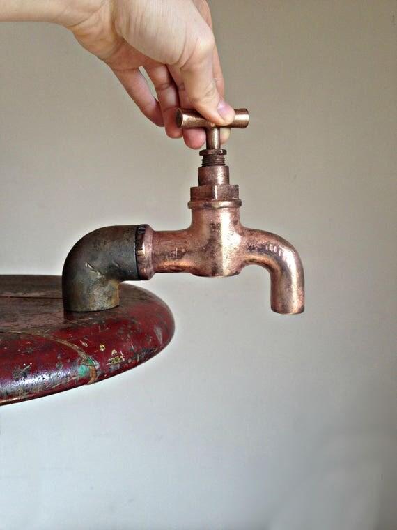 Antique bath tap, french faucet, Vintage shower tap, copper water ...