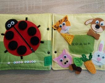 quiet bookquiet busy book toddler quiet books fabric activity book montessori
