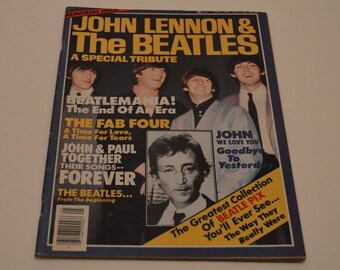 Memorial Issue John Lennon & The Beatles A Special Tribute
