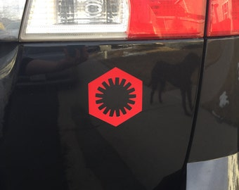 Star Wars Car Magnet - First Order, Decal
