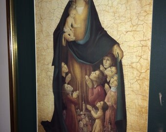 Madonna and Child Bradi Barth Print