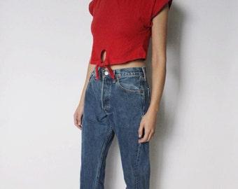 Vintage Levi's 501 Denim Jeans 26 | Levis 501 High Waist Denim Jeans | Blue Denim Jeans