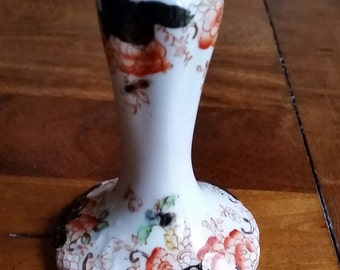 Edwardian bone china hat pin holder