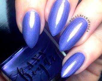 FRENCH LAVENDER - Purple Nail Polish, Shimmer Nail Polish, Lilac Nail Lacquer, Gifts Under 10, Luxury Vegan Makeup, Sister Gifts, AnnBoyar