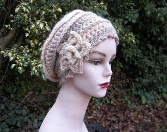 "Hat Cap ""Emilie"" - beige natural"