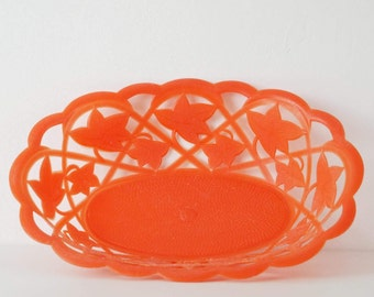 Plastic basket vintage