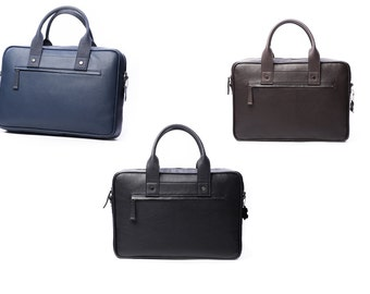 Leather Bag, Laptop Bag, Leather briefcase, Shoulder Bag, Men's Leather Bag, Mens Bag, Leather Shoulder Bag.