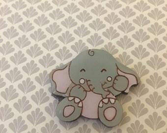 Elephant Brooch