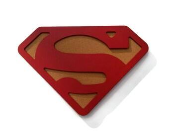 Superman Cork Board, Custom Cork Board