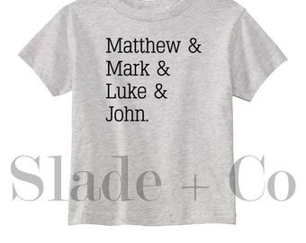 Quick Ship - Matthew Mark Luke & John - Church - Bible Books - Christian Religious - Baby and Toddler - In Stock