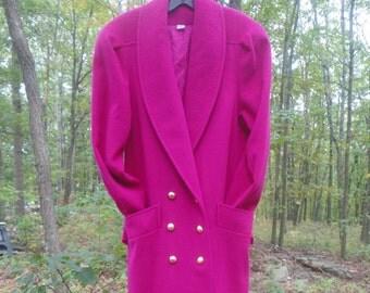 UNUSED Wool Classic Coat Size 8