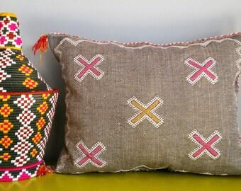 Cover cushion Berber in Sabra - handmade