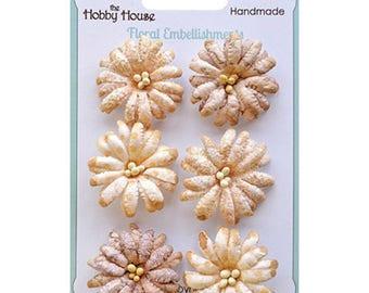 Boutique Paper Flowers - Daisies Cream