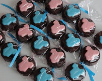 Baby Shower Chocolate Covered Oreos