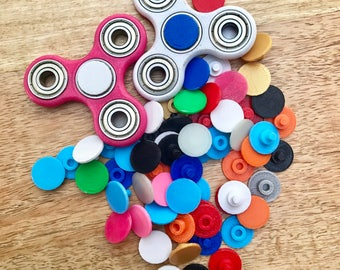 Extra Caps for Fidget Spinner 3D Printed; EDC Fidget Toy; Fidget Spinner Caps; Stress Relief; Tri Spinner Hand Spinner Caps