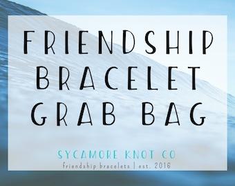 Friendship Bracelet Grab Bag | Three to Five Surprise Friendship Bracelets | Sycamore Knot Co.