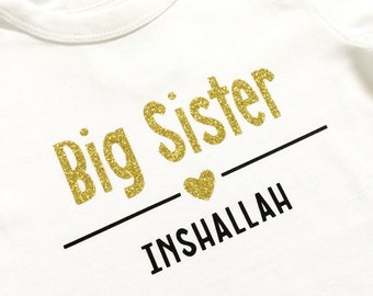 Big brother sister bodysuit T-shirt, birth announcement, sibling, I'm being promoted to, cousin, aunt, uncle, grandmother, grandfather, mom